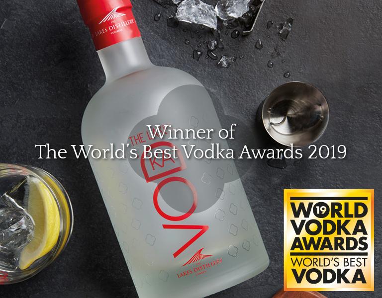 The Lakes Vodka named 'World's Best Vodka' in 2019 World Vodka Awards