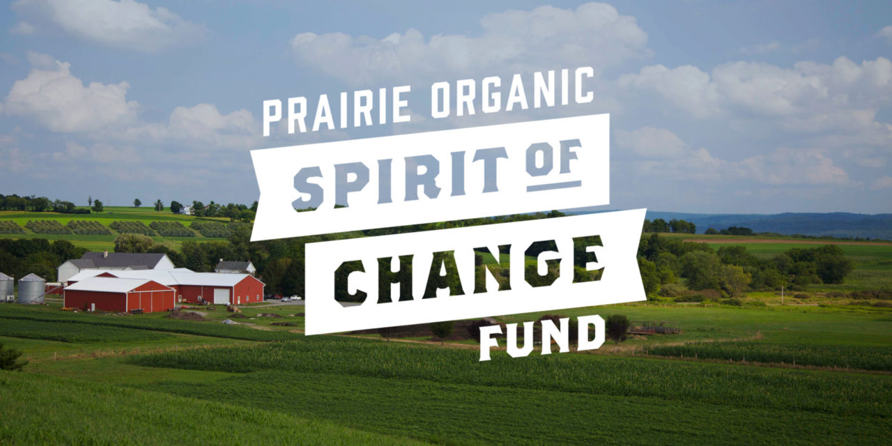 "PRAIRIE ORGANIC SPIRITS ANNOUNCES ""SPIRIT OF CHANGE FUND"" TO INCREASE INDUSTRY'S ENVIRONMENTAL IMPACT"