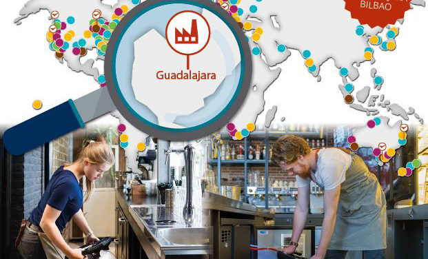 KeyKeg production and warehouses in Spain