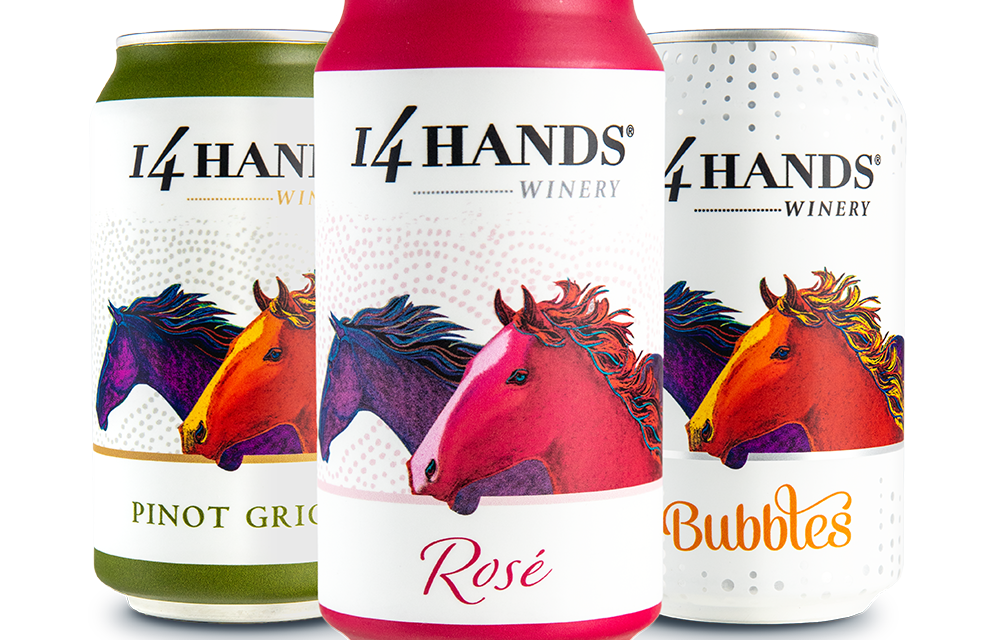 14 Hands Winery Launches Cans Nationally