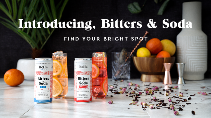 Canned Bitters and Soda Is a Bright Spot for Low or No Alcohol Cocktailing