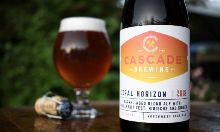 Cascade Brewing releases Coral Horizon in 500ml bottles and on draft