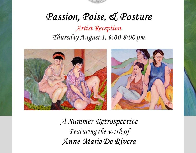 Madrigal Family Winery's Sausalito Tasting Salon & Gallery Presents Passion, Poise & Posture, a Summer Retrospective