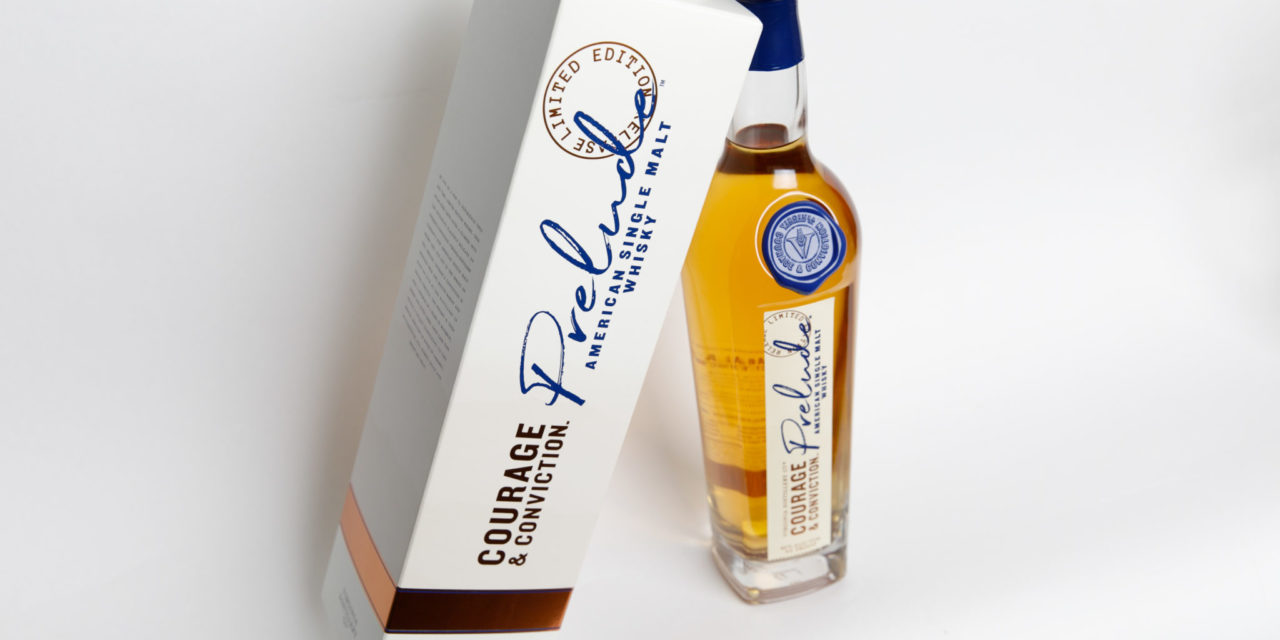 With 'Prelude: Courage & Conviction' Virginia Distillery Company Releases Preview of American Single Malt Product