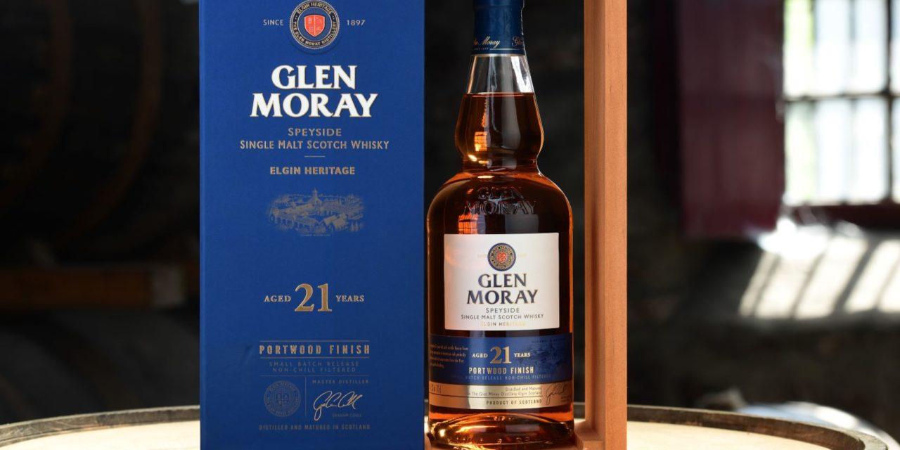 Glen Moray Announces 21 Year-Old Portwood Finish Single Malt