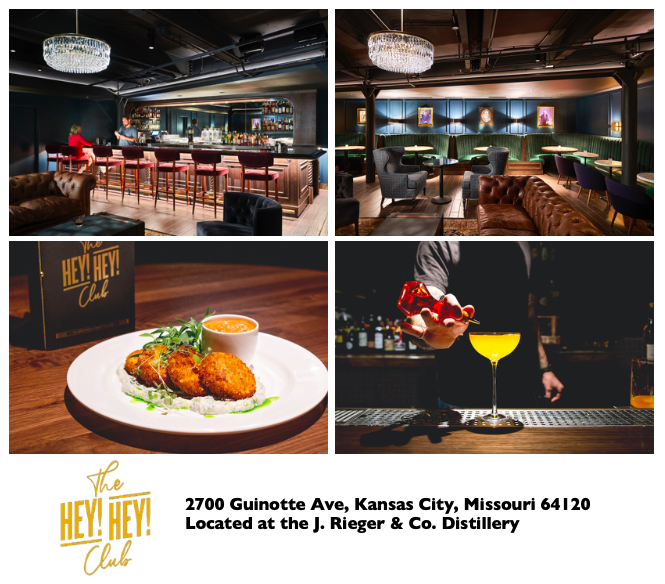 J. RIEGER & CO. TO UNVEIL THE HEY! HEY! CLUB IN ELECTRIC PARK