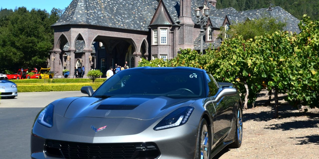 Ledson Winery & Vineyards 13th Annual Corvettes at the Castle