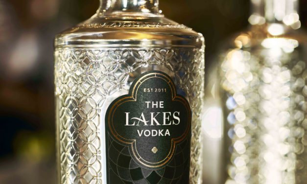 Less is more with the new look Lakes Vodka