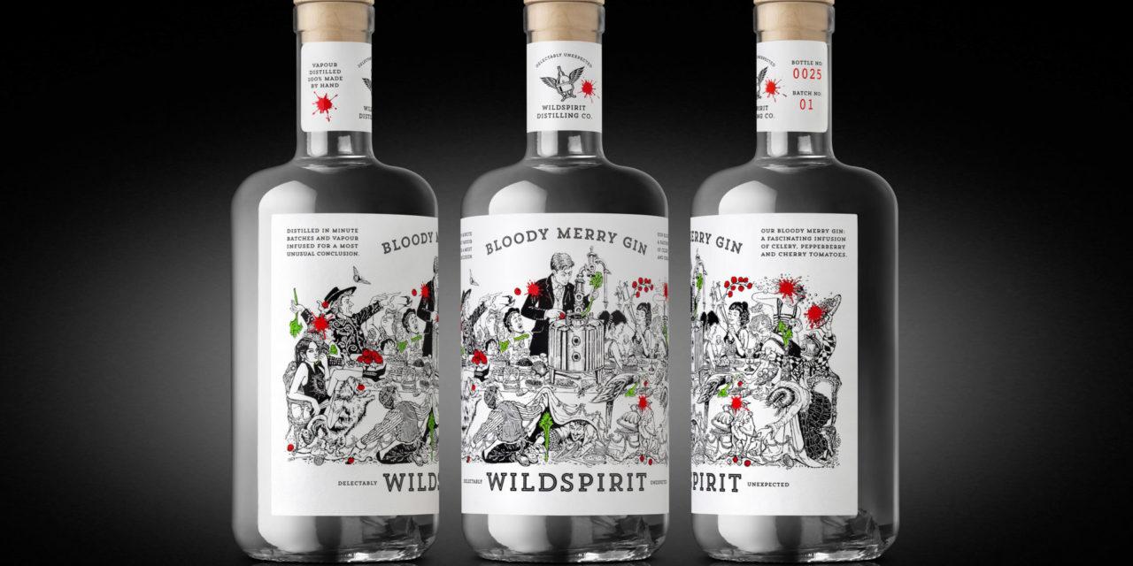 Denomination adds a shot of bacchanalian humour to new gin brand Wildspirit