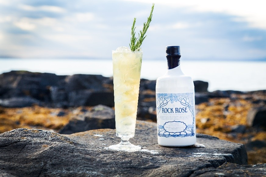 AWARD WINNING ROCK ROSE GIN TO BE DISTRIBUTED IN FLORIDA JUST IN TIME FOR THE SEASON
