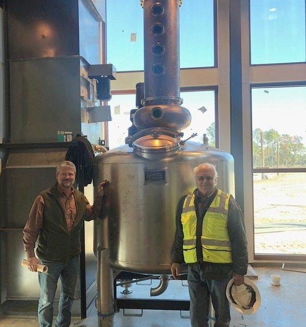 Firefly Spirits sets stills for new North Charleston Distillery
