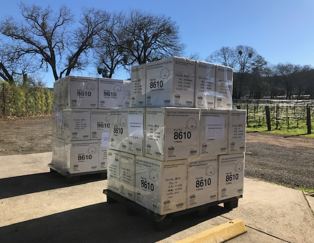 ACUMEN NAPA VALLEY DONATES 12,000 N95 RESPIRATOR MASKS TO THE PEOPLE OF WUHAN, CHINA