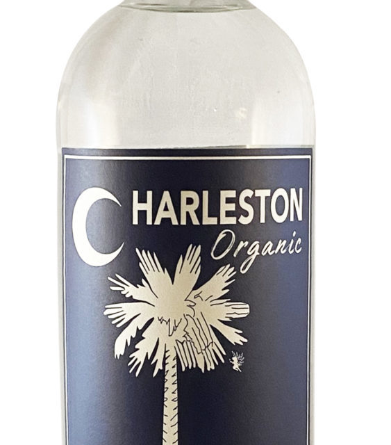 Charleston's first Organic Vodka released by the Holy City's first distillery since prohibition, female owned Striped Pig Distillery