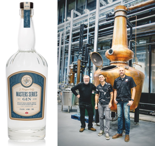 """J. Rieger & Co. Announces Winner of the Annual """"A Day with the Master"""" Gin Competition with Top Honors to Design """"Masters Series"""" Gin Release"""