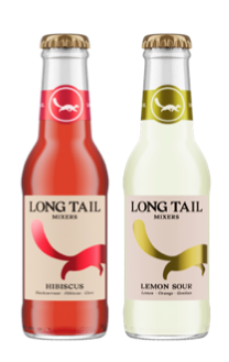 LONG TAIL ADDS TWO NEW FLAVOURS – HIBISCUS AND LEMON SOUR – TO ITS PORTFOLIO OF DARK SPIRIT MIXERS