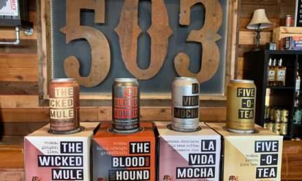 Oregon's 503 Distilling adds Five-0-Tea to its line of canned craft cocktails, expands distribution of four-pack cans to California, Idaho and Washington
