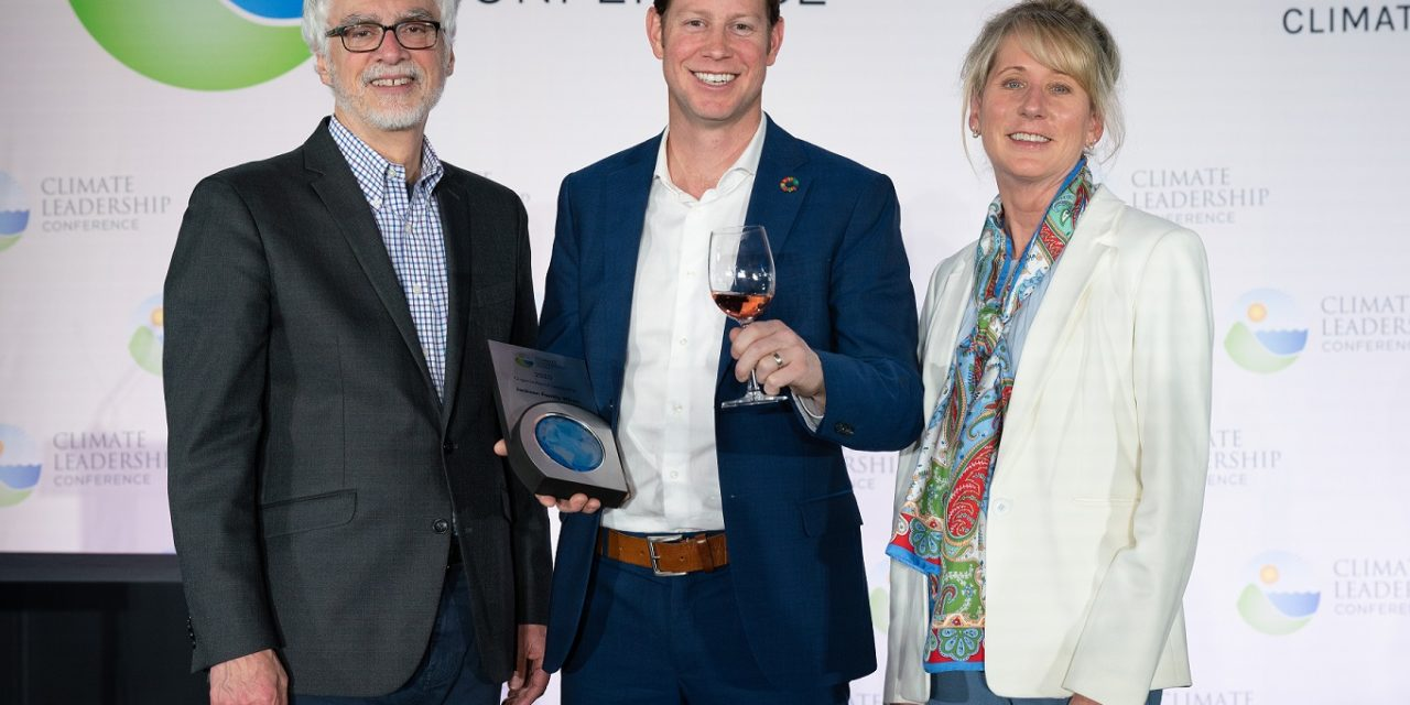 Jackson Family Wines receives Organizational Leadership Award at 2020 Climate Leadership Conference