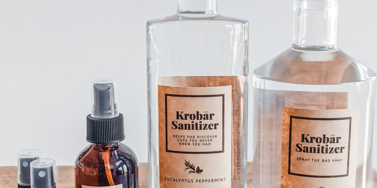 KROBAR Distillery Producing Sanitizer For Hospitals, Emergency Responders and Local Businesses