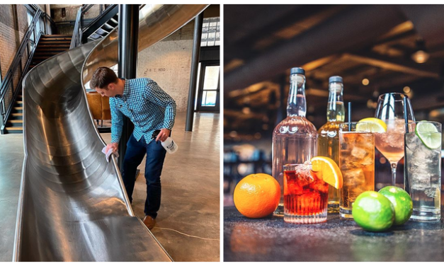 Gin Sanitizer & Cocktail to Go: J. Rieger & Co. Gets Creative with Coronavirus Prevention