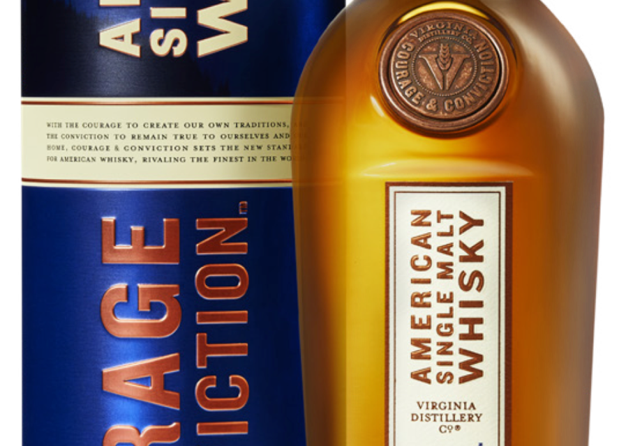 Virginia Distillery Company Releases First American Single Malt in its 'Courage & Conviction' Series