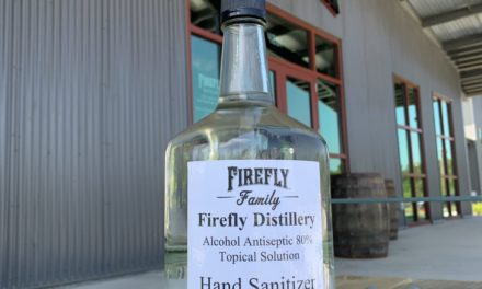 Firefly Distillery Produces Hand Sanitizer to Meet Demand in Charleston