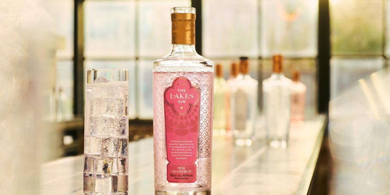 Introducing The Lakes Pink Grapefruit Gin