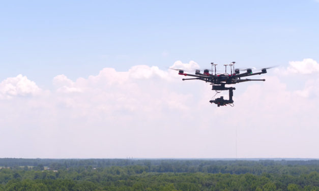 Eye in the Sky: Sensors and drones deliver actionable data to growers.