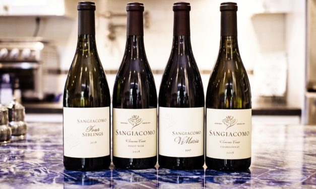 Sonoma County's Sangiacomo Family Wines released their Spring Wines on June 1
