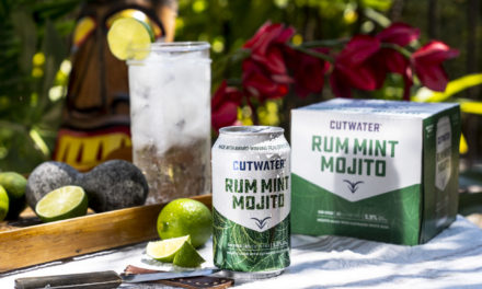 INTRODUCING CUTWATER SPIRITS NEW READY-TO-ENJOY RUM MINT MOJITO CANNED COCKTAILS