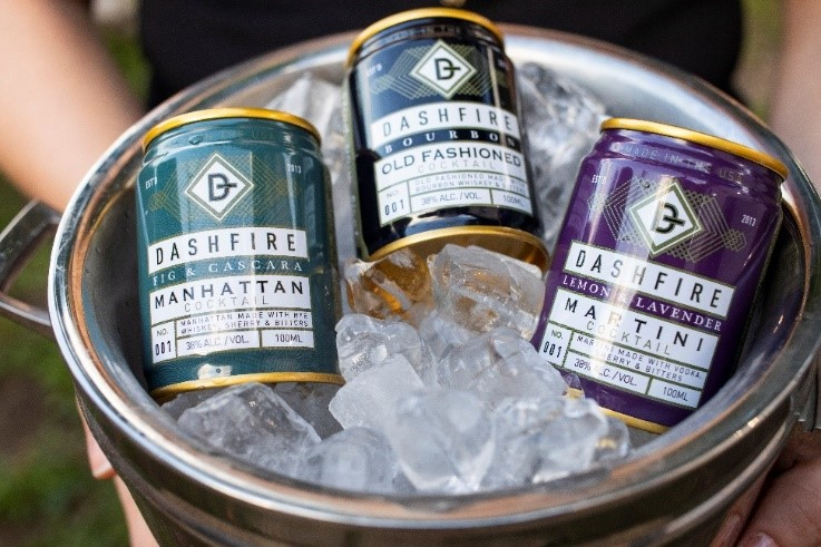 Dashfire Ready-to-Drink Cocktails Expand to Florida and South Carolina