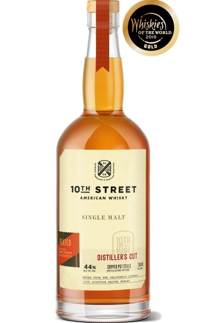 10th Street Distillery Releases Distiller's Cut Peated Single Malt — Find 10th Street's boldest whisky yet at California retailers —