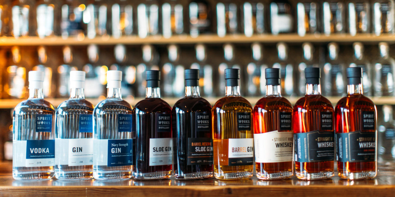 "SPIRIT WORKS DISTILLERY NAMED ""2020 DISTILLERY OF THE YEAR"" American Distilling Institute (ADI) Awards Spirit Works distillery with Prestigious Bubble Cap Award for Excellence, Innovation and Community Leadership"