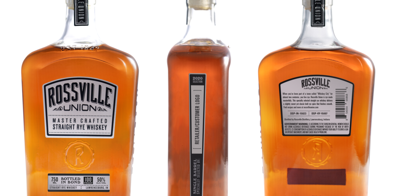 MGP Debuts 2020 Barrels of Rossville Union® Single Barrel Rye Whiskey