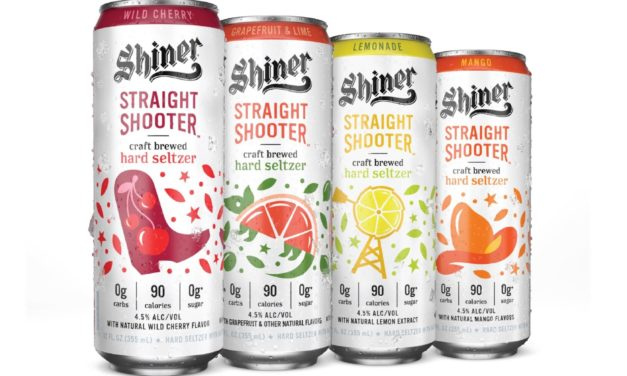 SHINER LAUNCHES STRAIGHT SHOOTER CRAFT BREWED HARD SELTZER