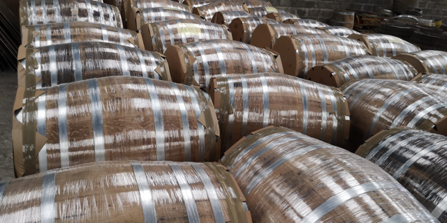 Round and Round: Barrel brokers provide variety for producers looking to season their concoctions through aging.