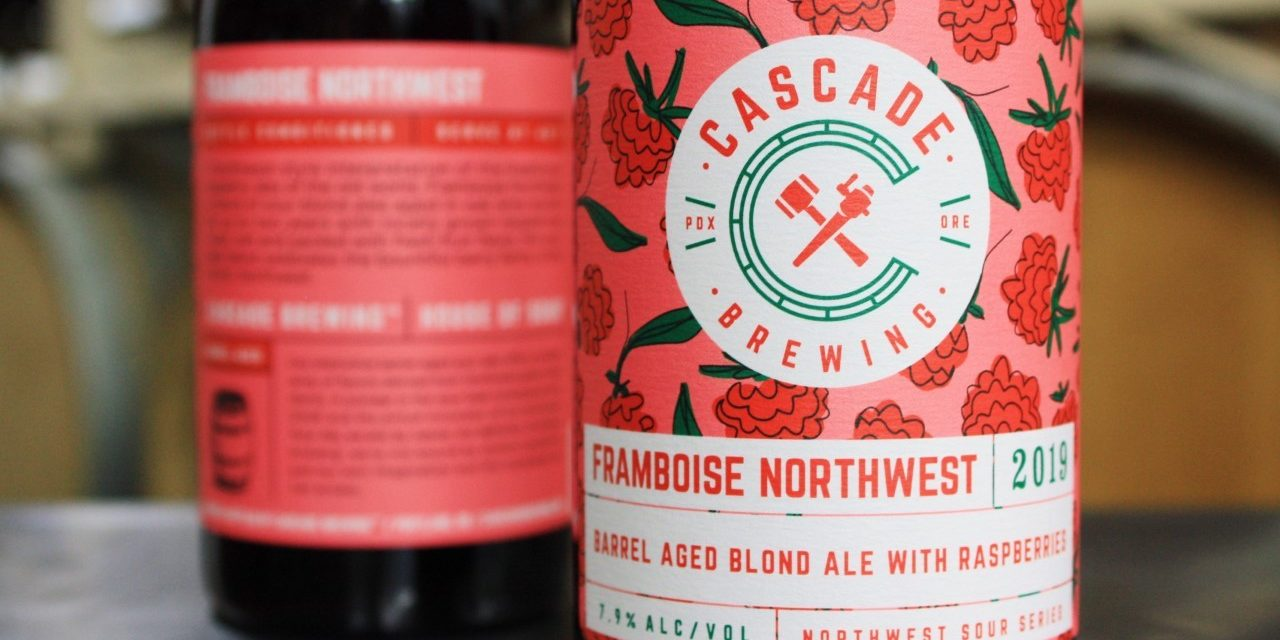 Cascade Brewing Releases Framboise Northwest, a Brand New Northwest Sour Ale