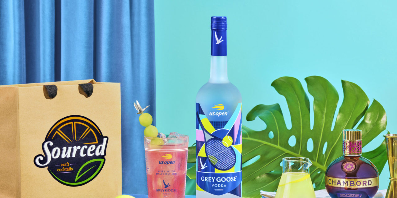 GREY GOOSE ® Vodka Debuts its First-Ever Honey Deuce Cocktail Kit to Celebrate the 2020 US Open Tennis Championships at Home