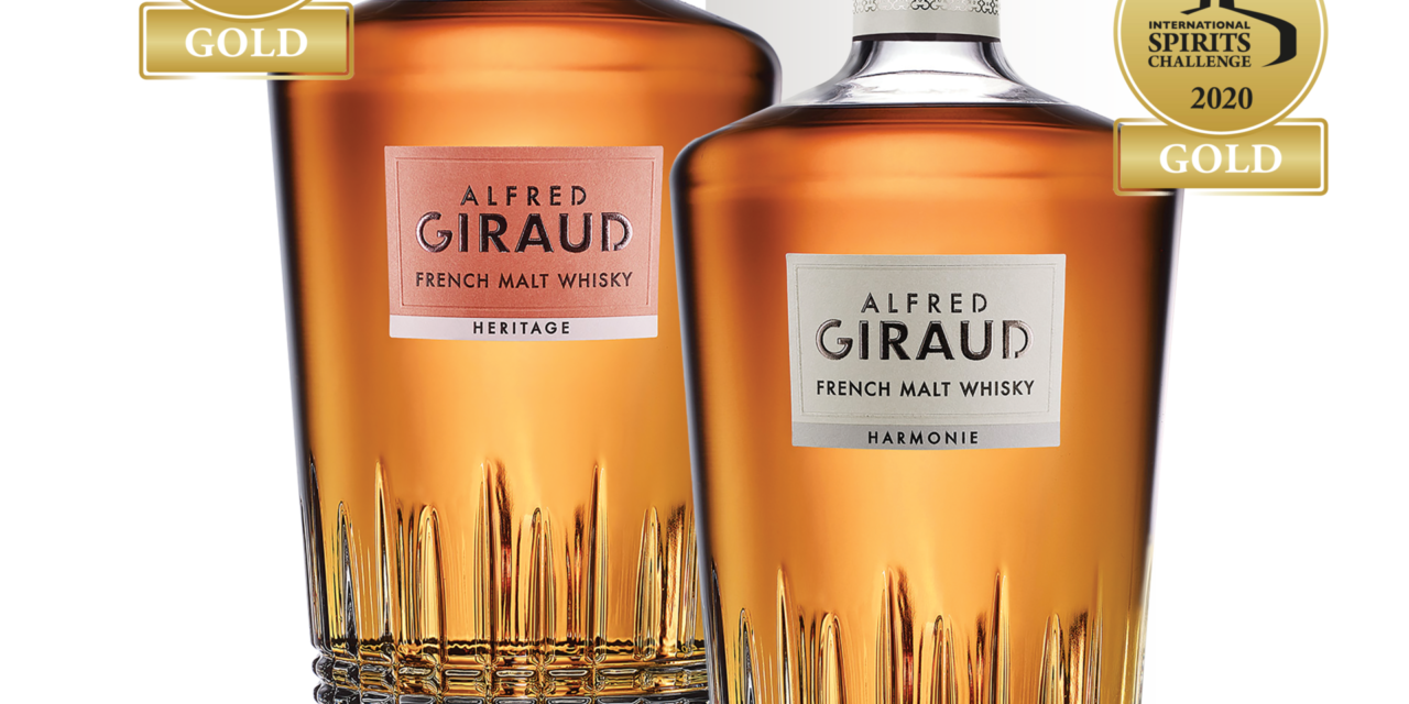 Alfred GIRAUD Whisky wins Gold twice