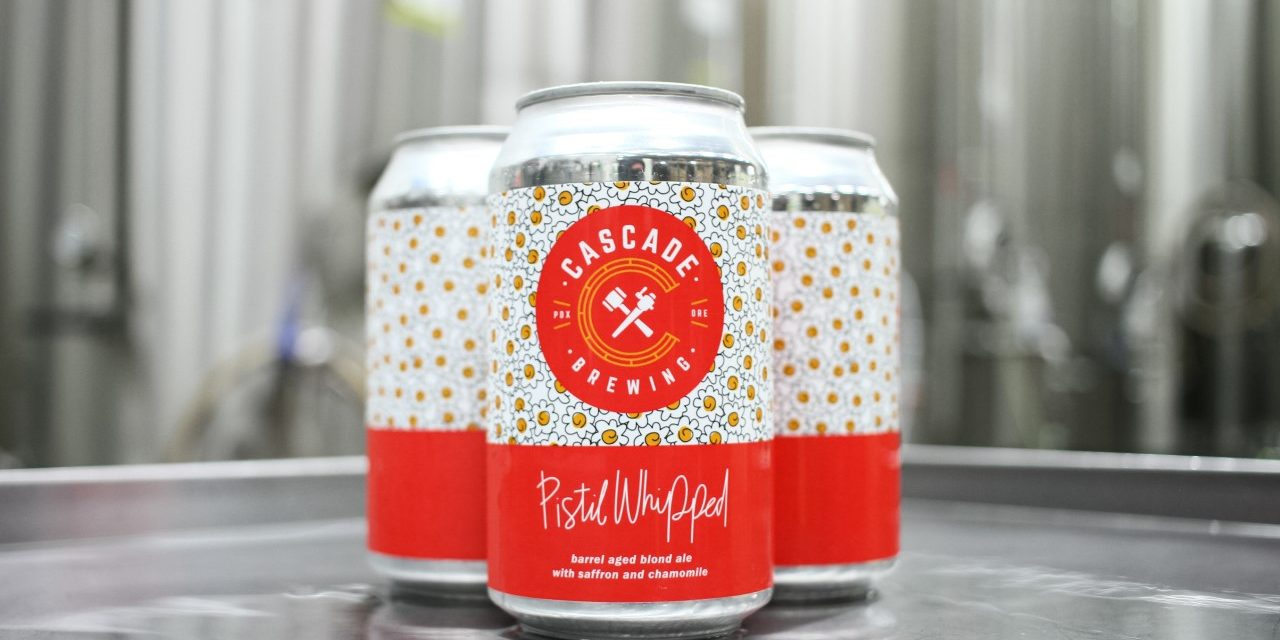 Cascade Brewing Packages Pistil Whipped and Sang Rouge in 12-ounce Cans for the First Time