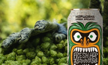 Hopworks releases Fresh Hop Abominable Winter Ale plus two other Fresh Hop Beers with local, Salmon-Safe Goschie Farms Hops