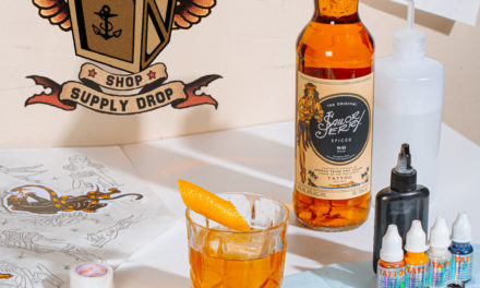SAILOR JERRY SPICED RUM PARTNERS WITH KINGPIN TATTOO SUPPLIES TO LAUNCH 'SUPPORT YOUR ARTIST – SHOP SUPPLY DROP'