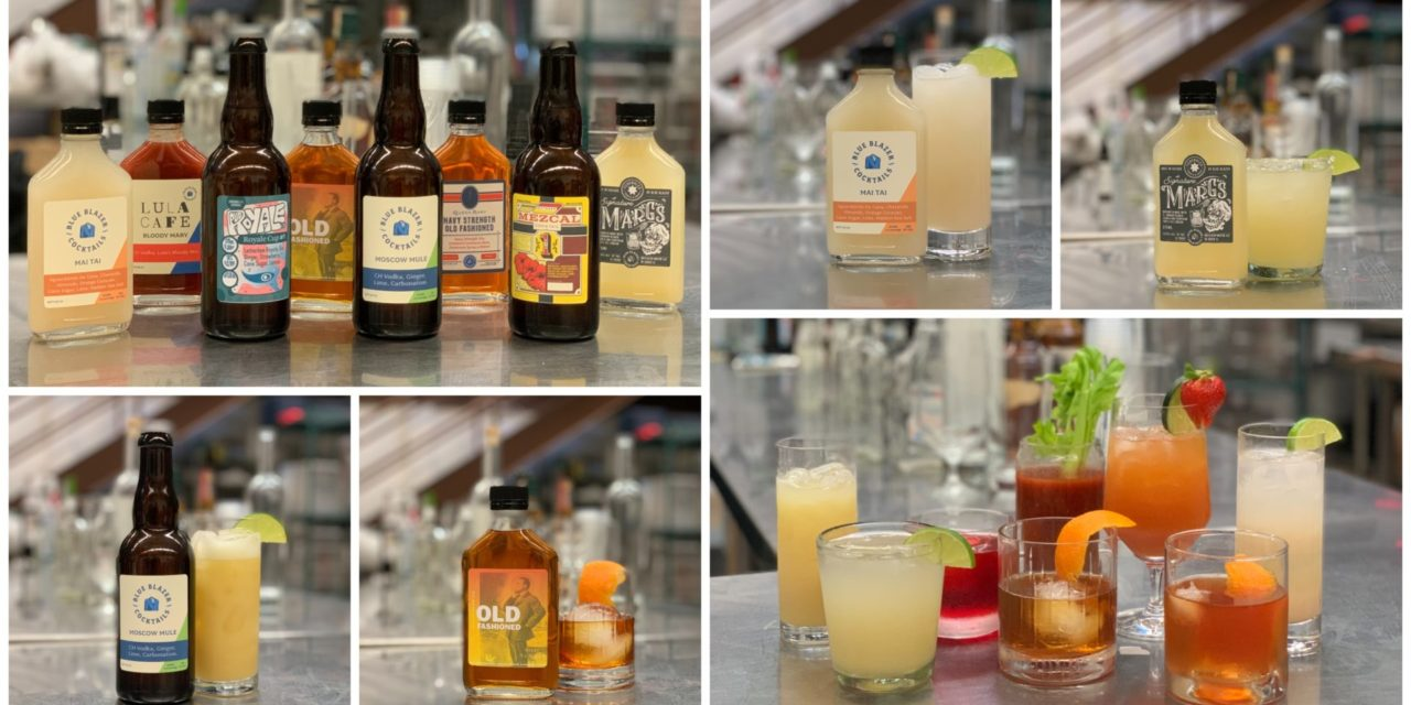 Blue Blazer Debuts First Line of Ready-To-Drink Craft Cocktails from Billy Sunday, Lula Café, Pub Royale + More Top Chicago Bars/Restaurants