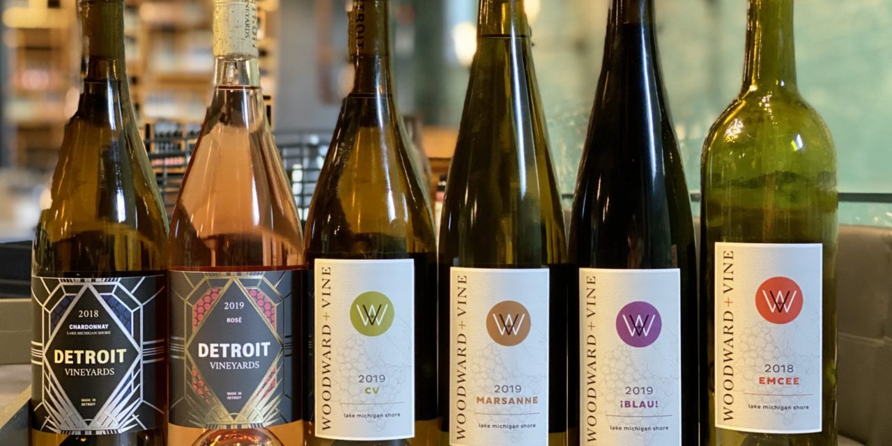 "DETROIT VINEYARDS RELEASES SPRING 2020 WINES AND INTRODUCES ""WOODWARD & VINE"" LABEL"