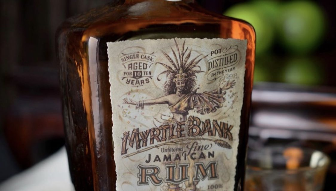Myrtle Bank Jamaican 10 YR 120 Proof Single Cask Pot Still Rum