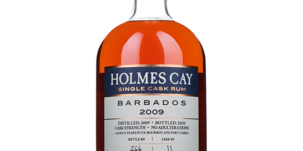 HOLMES CAY – SINGLE CASK RUM RELEASES BARBADOS 2009 PORT CASK EDITION