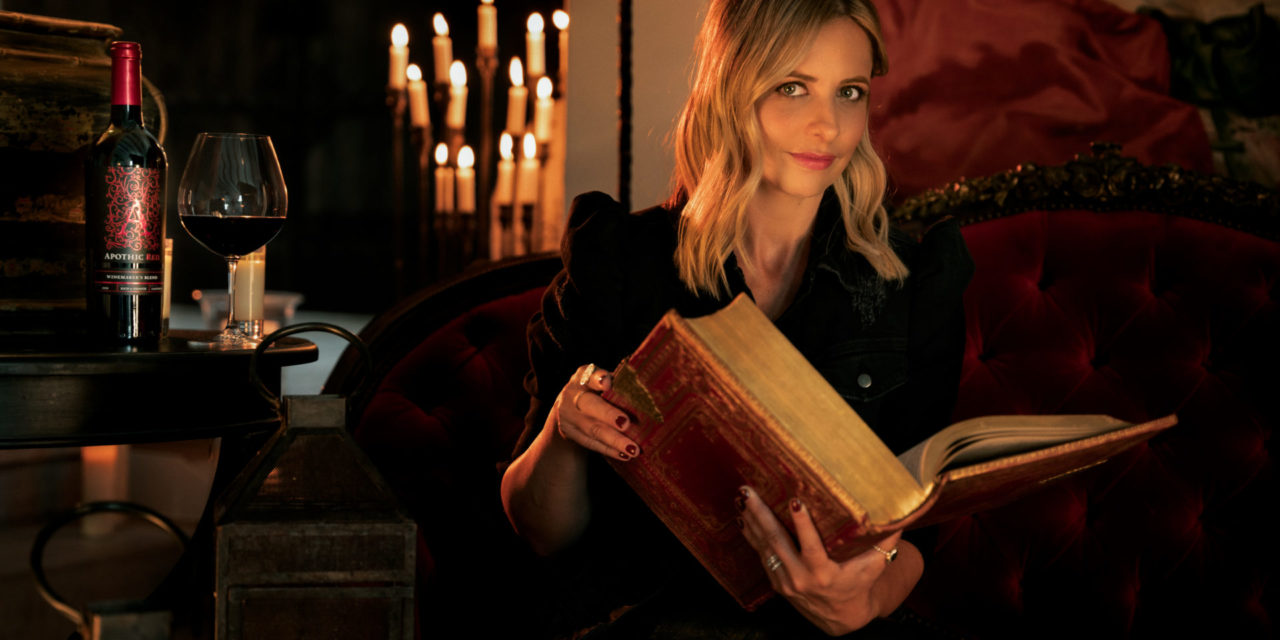 """Apothic Wines and Sarah Michelle Gellar Partner to Create an """"Evening of Intrigue"""" Ahead of Halloween"""