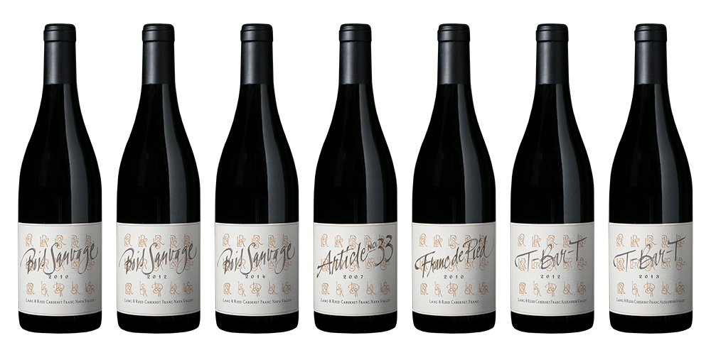 NAPA VALLEY'S LANG & REED LAUNCHES THE MONOGRAPH COLLECTION OF SEVEN NEW CABERNET FRANC WINES, TWO TO BE RELEASED IN 2020