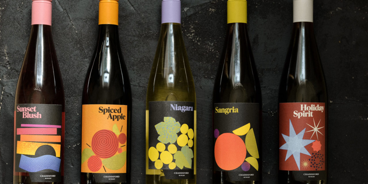 Chaddsford Winery Completes Rebrand of Sweet Wine Portfolio