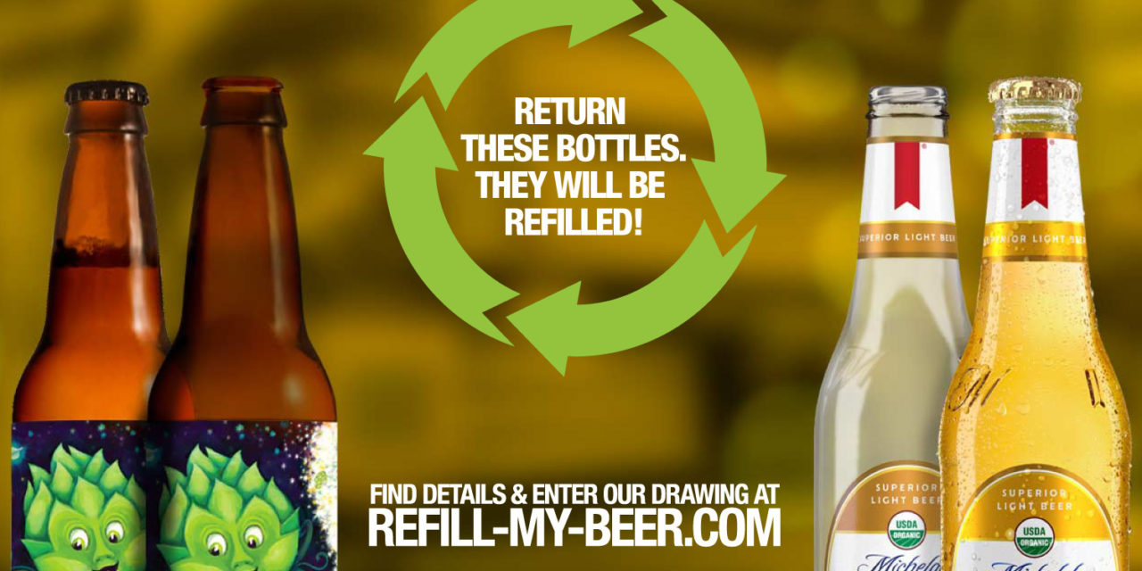"""CONSCIOUS CONTAINER START-UP AND ANHEUSER-BUSCH INVITE THE NORTH BAY TO """"REFILL MY BEER"""""""