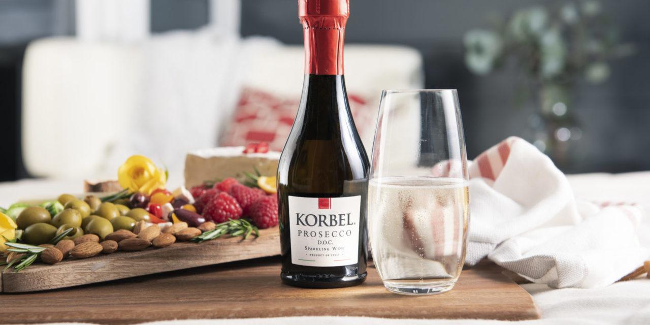 Korbel California Champagne Launches Korbel Prosecco in 187ml Bottles